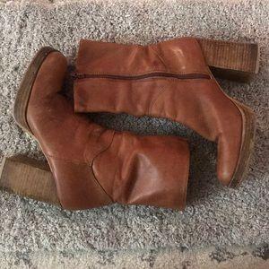 Vintage Candies Heeled Boots